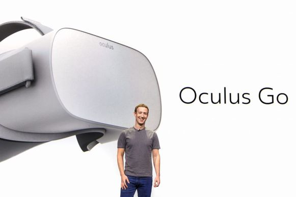 Zuckerberg Oculus Go